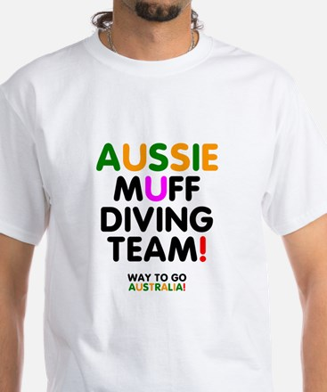AUSSIE MUFF DIVING TEAM - WAY TO GO AUSTRALIA! - T