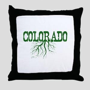 Colorado Roots Throw Pillow