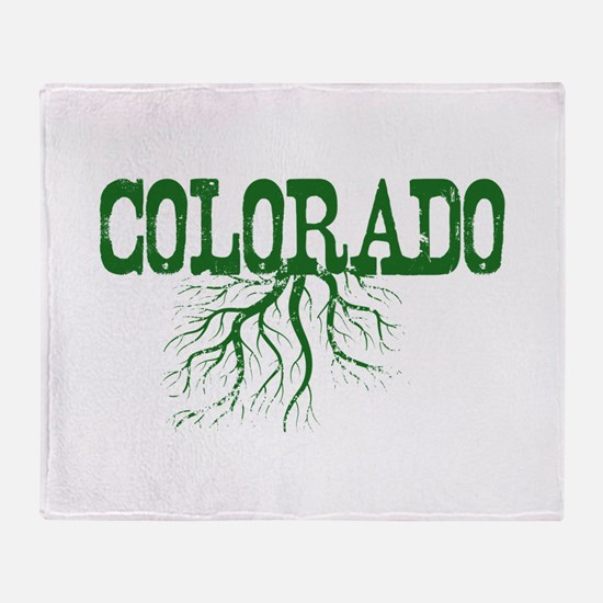Colorado Roots Throw Blanket