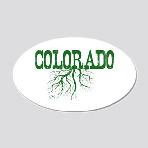 Colorado Roots 20x12 Oval Wall Decal