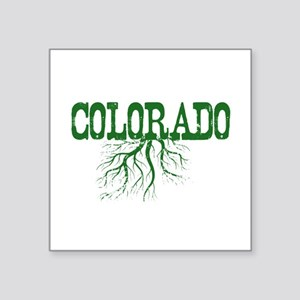 "Colorado Roots Square Sticker 3"" x 3"""