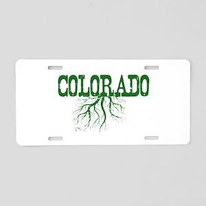 Colorado Roots Aluminum License Plate