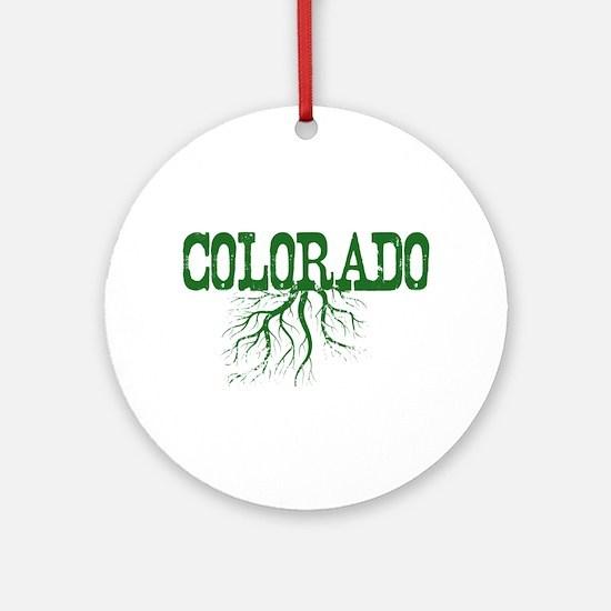 Colorado Roots Ornament (Round)