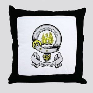 JOHNSTONE Coat of Arms Throw Pillow