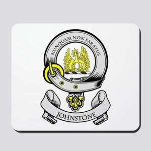 JOHNSTONE Coat of Arms Mousepad
