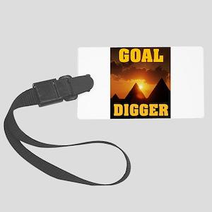 GOAL DIGGER Luggage Tag