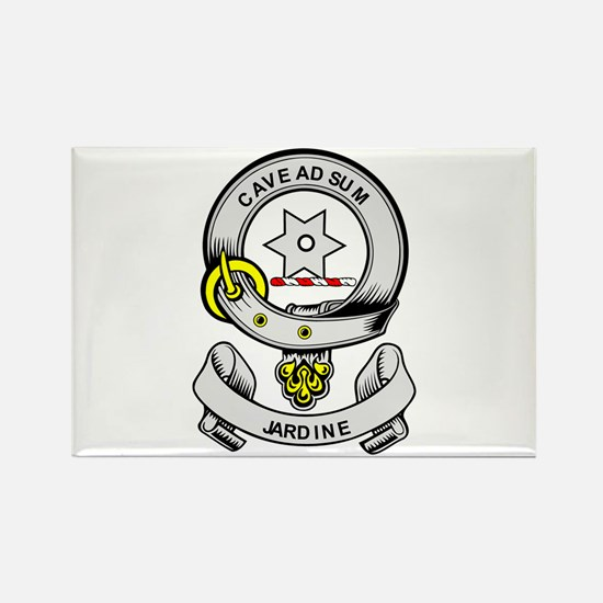 JARDINE Coat of Arms Rectangle Magnet