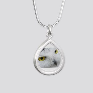 snowy owl Necklaces