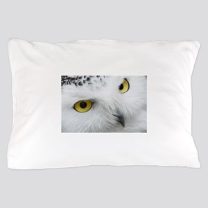 snowy owl Pillow Case