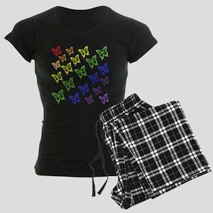 rainbow butterflies Pajamas
