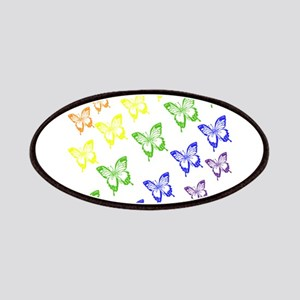 rainbow butterflies Patches
