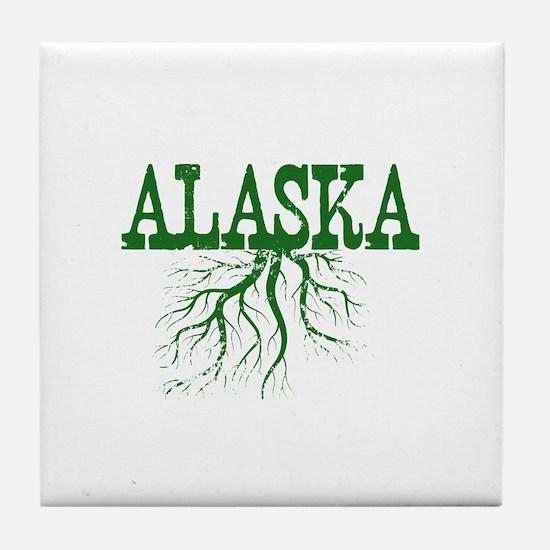 Alaska Roots Tile Coaster