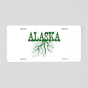 Alaska Roots Aluminum License Plate