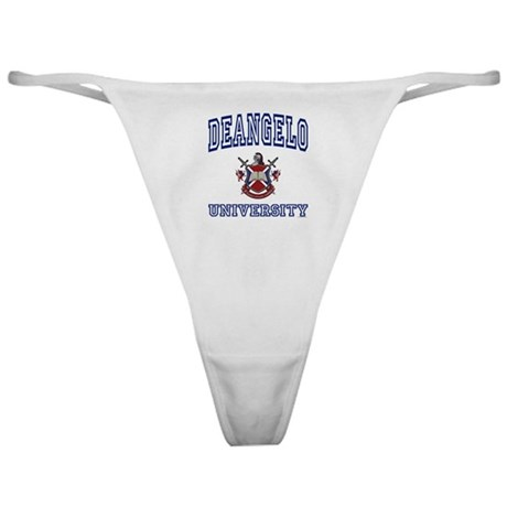 DEANGELO University Classic Thong