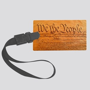US Constitution Luggage Tag