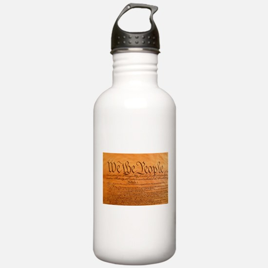 US Constitution Water Bottle