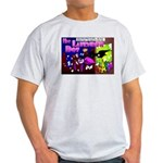 Lavender Dot Ash Grey T-Shirt of Vengeance