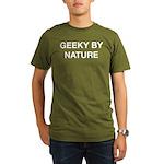 Geeky By Nature Organic Men's T-Shirt (dark)