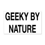 Geeky By Nature 20x12 Wall Decal