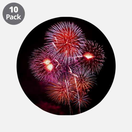 "Fireworks 3.5"" Button (10 pack)"