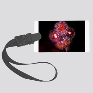 Fireworks Luggage Tag