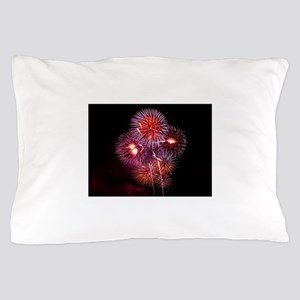 Fireworks Pillow Case