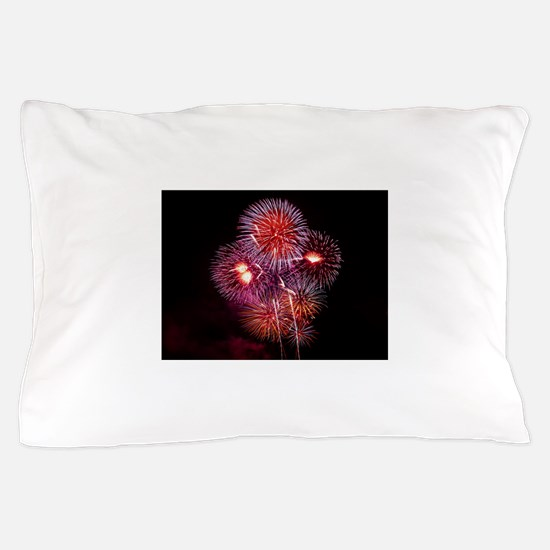 Fireworks Pillow Case