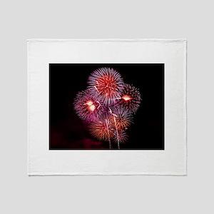Fireworks Throw Blanket