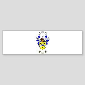 HUSTON Coat of Arms Bumper Sticker