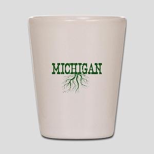 Michigan Roots Shot Glass