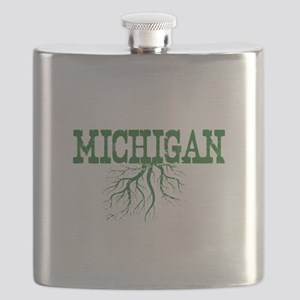 Michigan Roots Flask