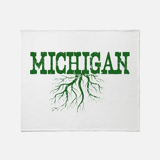 Michigan Roots Throw Blanket