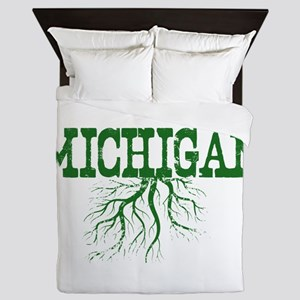 Michigan Roots Queen Duvet