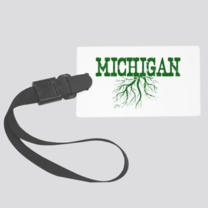 Michigan Roots Large Luggage Tag