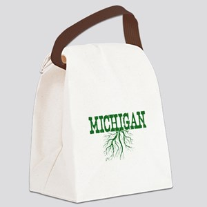 Michigan Roots Canvas Lunch Bag