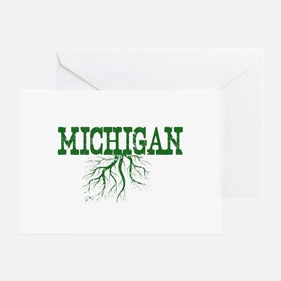Michigan Roots Greeting Card