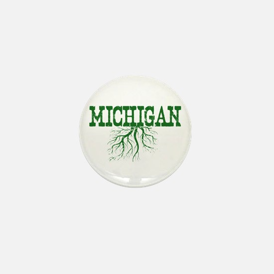 Michigan Roots Mini Button