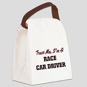 Trust me I'm a Race Car Driver Canvas Lunch Bag