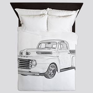 1950 Ford F1 Queen Duvet