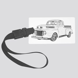 1950 Ford F1 Large Luggage Tag