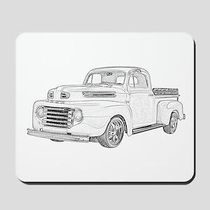 1950 Ford F1 Mousepad