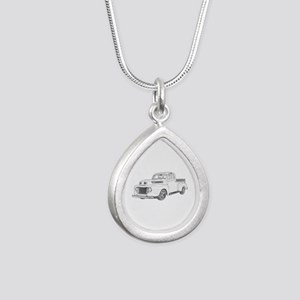 1950 Ford F1 Silver Teardrop Necklace