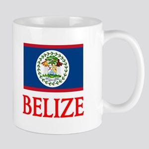 Belize Flag Design Mugs