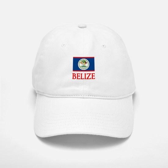 Belize Flag Design Baseball Baseball Cap