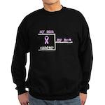 Cancer Survivor Bracket Sweatshirt