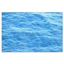 Ocean Surface Blue Sq Posters