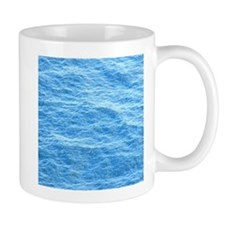 Ocean Surface Blue Sq Mugs