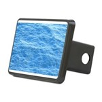 Ocean Surface Blue Sq Hitch Cover