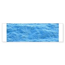 Ocean Surface Blue Sq Bumper Sticker