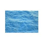 Ocean Surface Blue Sq Magnets